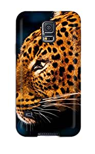High Grade Bruce Lewis Smith Flexible Tpu Case For Galaxy S5 - The Leopard