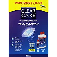 Clear Care Cleaning & Disinfecting Solution (2 X 16fl Oz Packs)