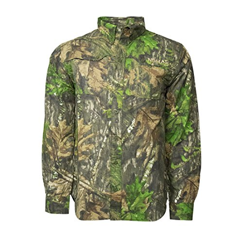 Nomad NWTF Woven Shirt Long Sleeve, Mossy Oak Obsession, Large