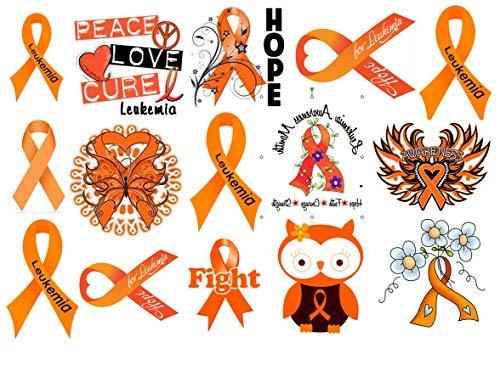 Leukemia Temporary Tattoos]()