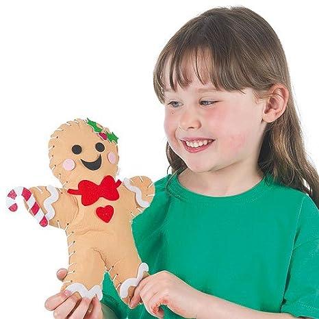 Amazon.com: Kits de costura para niños de fieltro Cojín de ...