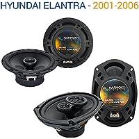 Hyundai Elantra 2001-2006 OEM Speaker Replacement Harmony R65 R69 Package