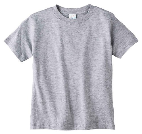 Rabbit Skins Toddler 4.5 oz. Fine Jersey T-Shirt 3T HEATHER