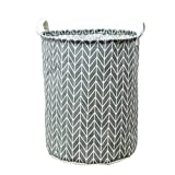 Storage Box,Clearance ! AmyDong Dirty clothes storage basket storage bucket Waterproof Canvas Laundry Clothes Basket Storage Basket Folding Storage Box (C)