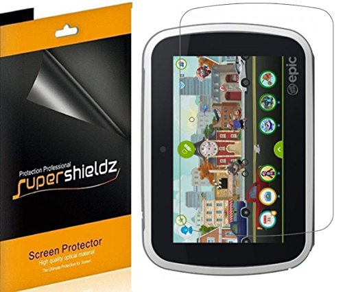Supershieldz- Anti-Glare & Anti-Fingerprint  Screen Protector Shield for LeapFrog Epic 7 inch Tablet + Lifetime Replacements Warranty- Retail