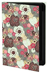 Keka Classic - Funda rígida para Samsung Galaxy S4, diseño de flores de Lesley Todd