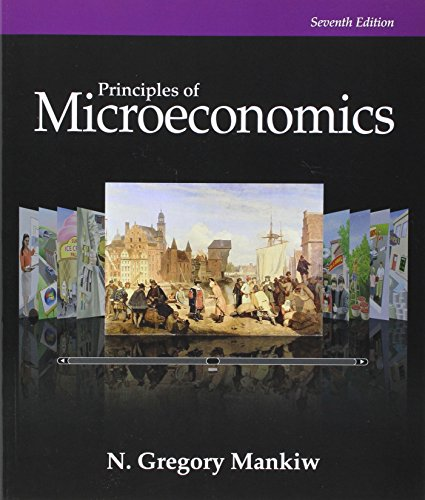 Bundle: Principles of Microeconomics, 7th + LMS Integrated for Aplia, 1 term Printed Access Card