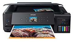 Featuring 5-color inks, the wide-format Expression Premium ET-7750 wireless EcoTank all-in-one offers revolutionary cartridge-free printing with easy-to-fill, supersized ink tanks. It includes up to 2 years of ink in the box (1), equivalent t...