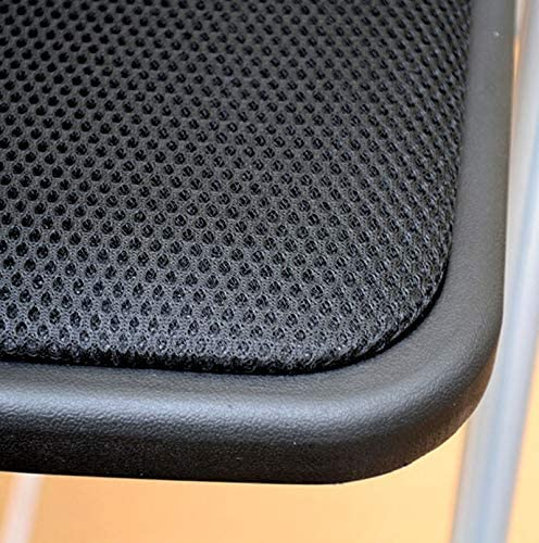 AJZGFChaise de salle à manger, chaise de cuisine Chaise pliante chaise d'ordinateur chaise maille légère coussin chaise