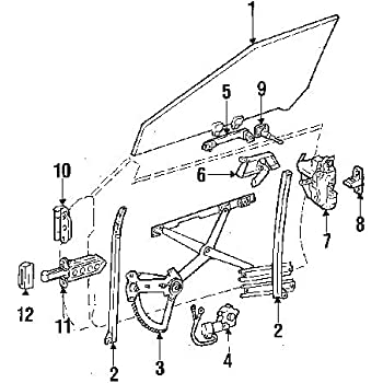 Amazon Com Mercedes Benz 129 820 73 42 Power Window Motor Automotive