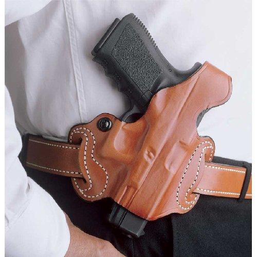 (DeSantis 085TA8BZ0 Thumb Break Mini Slide fits Glock 43, Right, Tan Color)