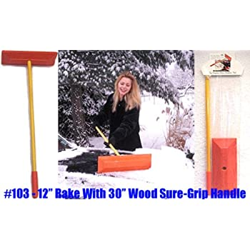 Amazon Com Sno Rake Model 103 12 Quot Rake 30 Quot Wood