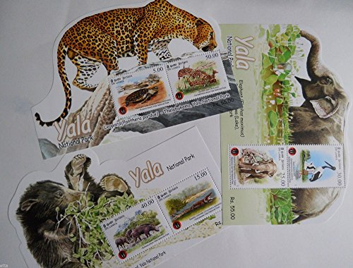 sri-lanka-ceylon-2013-yala-sanctuary-3-odd-shaped-souvenir-sheets