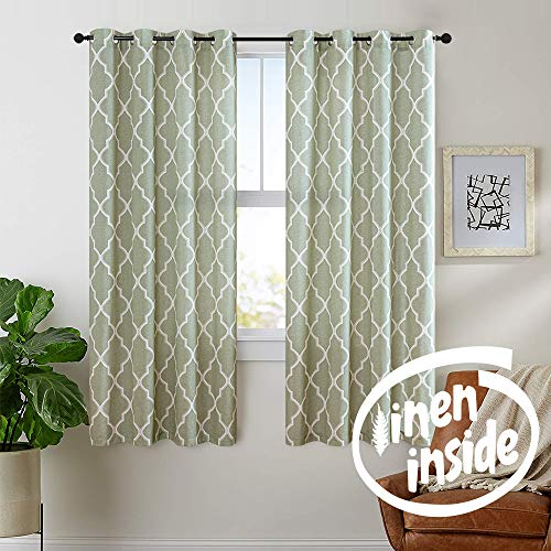 jinchan Moroccan Tile Curtains