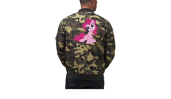 Pinkie Pony Bomber Chaqueta Camuflaje Certified Freak: Amazon.es: Ropa y accesorios