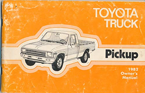Toyota Truck Pickup [1982 Owner's Manual Maintenance Operation]