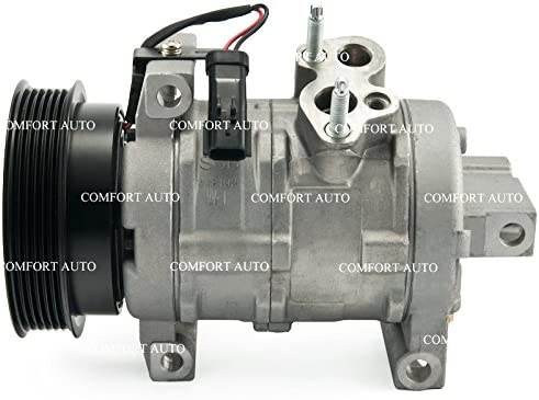 2005 2007 2008 Jeep Grand Cherokee V8 5.7l 6.1l New Ac Compressor with Clutch 1 Year Warranty