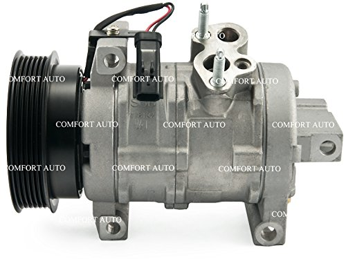 (2005 2007 2008 Jeep Grand Cherokee V8 5.7l 6.1l New Ac Compressor with Clutch 1 Year Warranty)