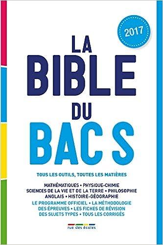 La bible du Bac S: Amazon.es: Rue des écoles: Libros en idiomas extranjeros
