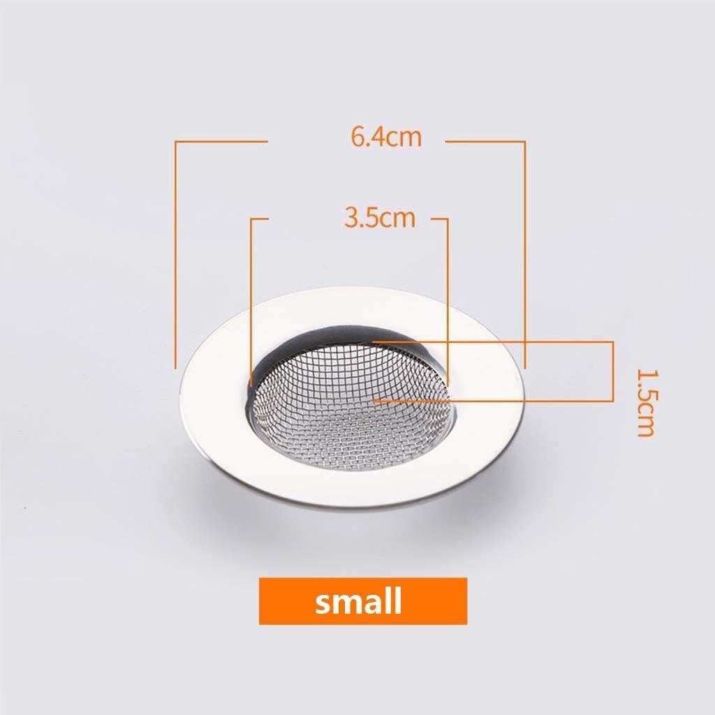 6 tailles peuvent choisir 2 pi/èces /évier de cuisine /écran en acier inoxydable grille de cuisine en argent /évier filtre cuisine /égout filtre lavabo filtre salle de bains anti-blocage drain de plancher