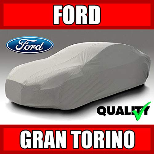 - autopartsmarket Ford Gran Torino 2-Door Hardtop 1972 Ultimate Waterproof Custom-Fit Car Cover