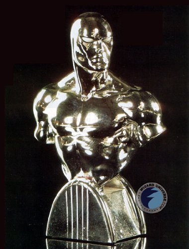 (Silver Surfer (Chrome Variant) WWC Exclusive Mini Bust Bowen Designs!)