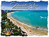 Puerto Rico Deluxe Wire-O Calendar 2017 - 12 x 9.5 (English and Spanish Edition)