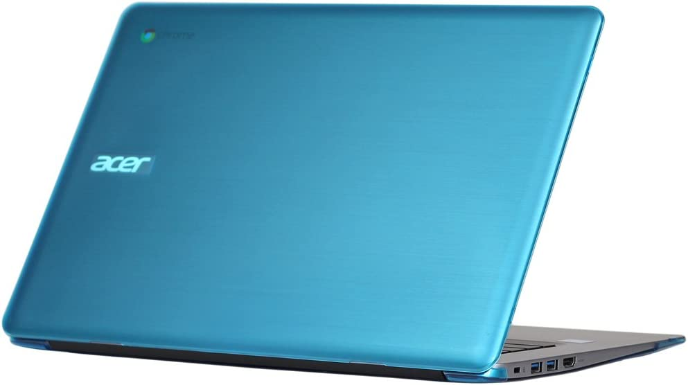 "iPearl mCover Hard Shell Case for 14"" Acer Chromebook 14 CB3-431 Series Laptop (Aqua)"