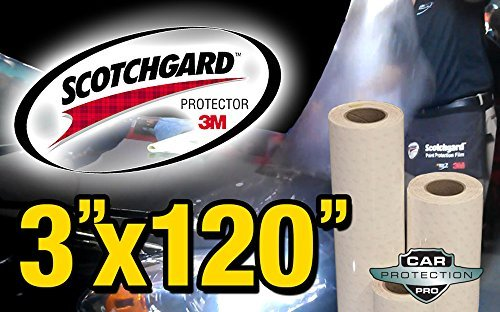 3M Scotchgard Clear Surface Protection Bulk Film Roll 3-by-120-inches