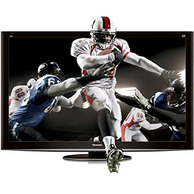 Panasonic VIERA TC-P50VT25 50-inch 1080p 3D Plasma HDTV, Black (2010 Model)