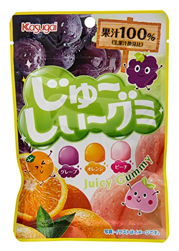 Kasugai Juicy Gummy Candy Mix (Mix Gummy)