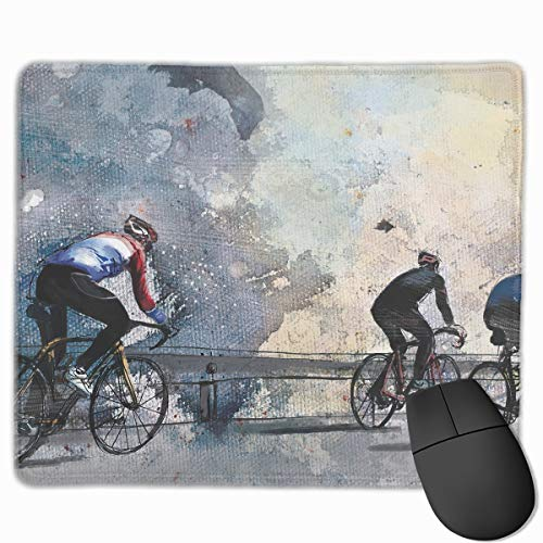 Smooth Mouse Pad Bicycle Race Mobile Gaming Mousepad Work Mouse Pad Office -