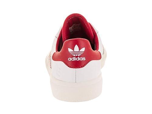 los angeles 88e06 4de62 Amazon.com  adidas 3MC x Evisen (WhiteScarletGold Metallic) Mens Skate  Shoes  Shoes