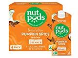 nutpods Pumpkin Spice, Unsweetened Dairy-Free Liquid Coffee Creamer Made From Almonds and Coconuts (4-pack)