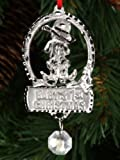 J Strait Designs 0006 Babys 1st Christmas Silver Pewter Ornament - Boy