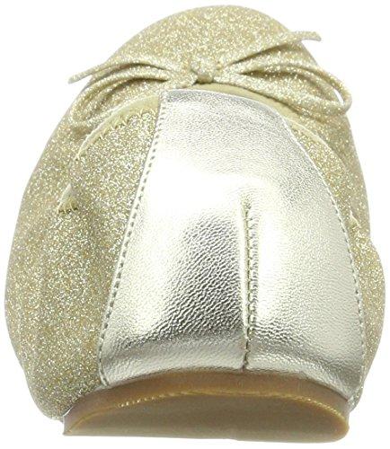 LK BENNETT Damen Bia Niedrige Hausschuhe Gold (Gol-Soft Gold)