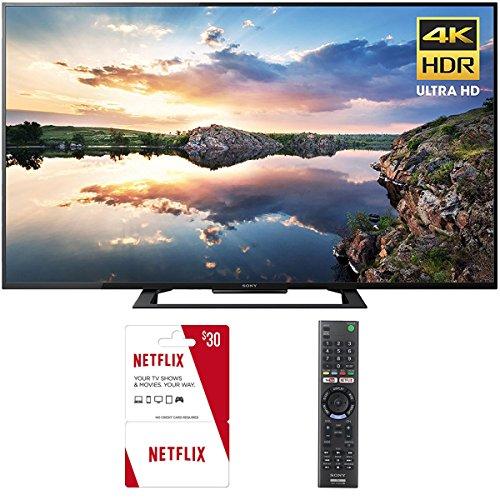 Sony KD60X690E 60-Inch 4K Ultra HD Smart LED TV (2017) Plus 1 Free Month of Netflix