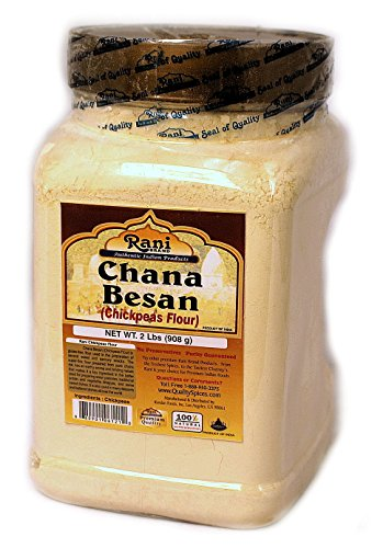 (Rani Chana Besan - Chickpeas Flour (Pet Jar) 2lb)