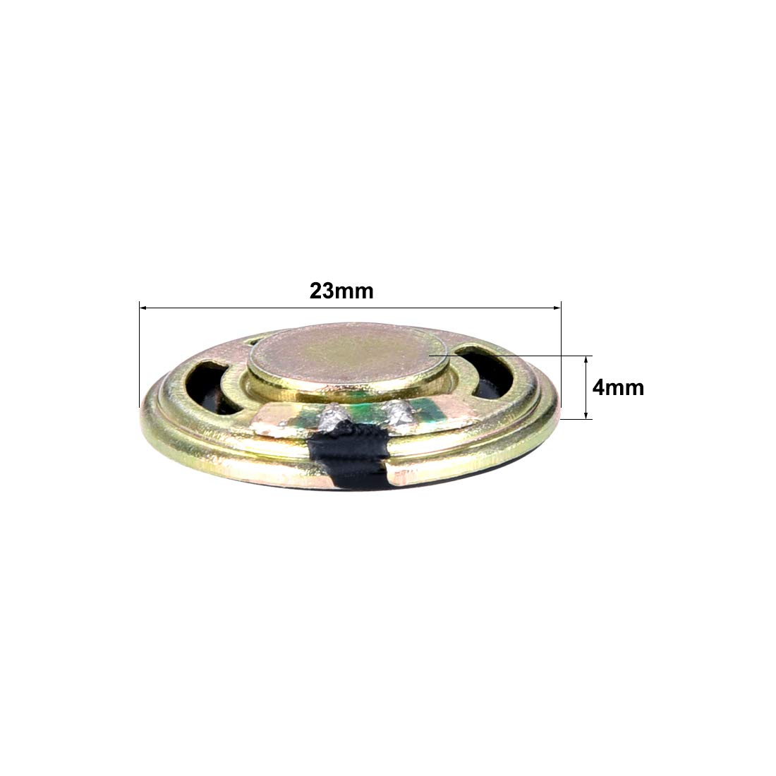 uxcell 0.5W 8 Ohm DIY Speaker 23mm Round Shape Replacement Loudspeaker 2pcs