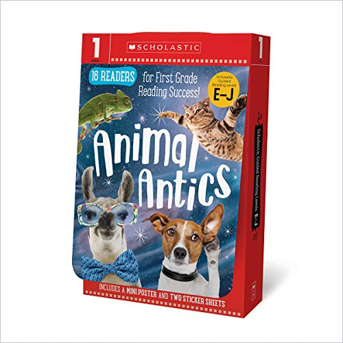 Grade 1 E-J Reader Box Set - Awesome Animals (Scholastic Early Learners) ()