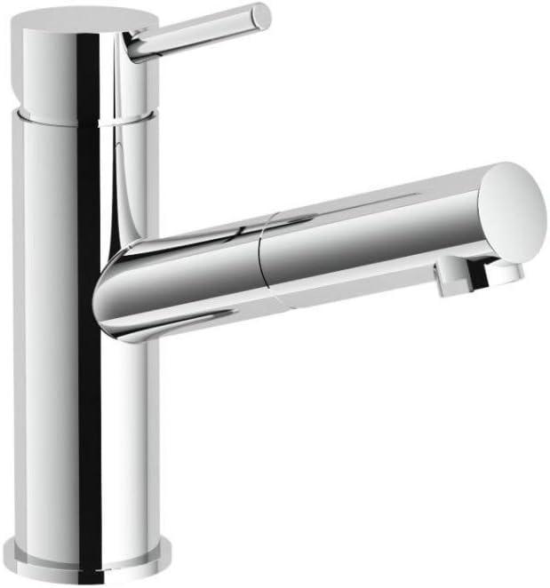 Mitigeur lavabo LIVE avec douchette Chrom/é