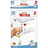 Children's Educational Wipe Away Book with Pen - Learn to Write