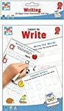 Learn To Write - Spelling Writing & Reading 20 Wipe-Clean Worksheets with Pen