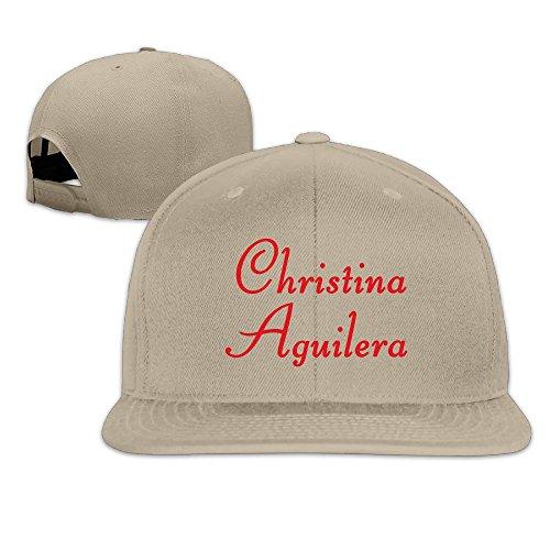 ROUNG Christina Aguilera Logo Baseball Cap Natural (Natural Reflections Jeans compare prices)