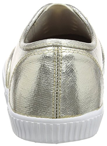 Lotus 50826, Zapatillas Mujer Dorado (Gold Metallic)