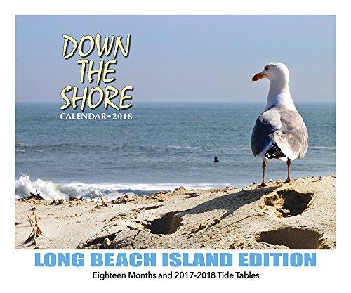 Down The Shore LONG BEACH ISLAND Calendar 2018