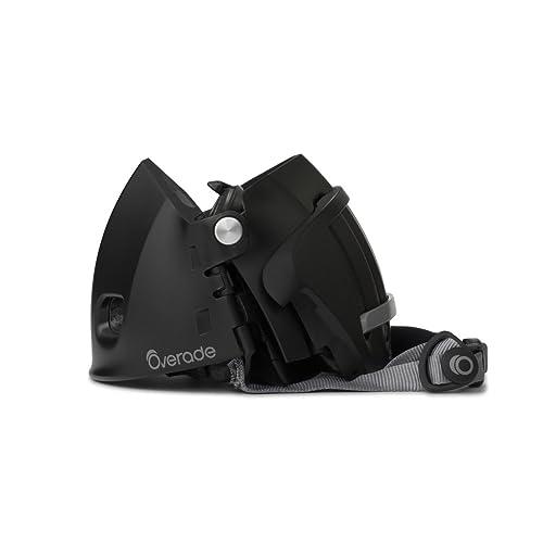 Overade - Casque PLIABLE Plixi pour vélo, trottinette électrique, gyroroue, skateboard, roller, VAE - Répond à la norme CE EN1078, même protection qu'un casque classique - Volume divisé par 3