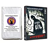 AtmosFearFX Shades of Evil Halloween DVD and Reaper Brothers High Resolution Window Projection Screen