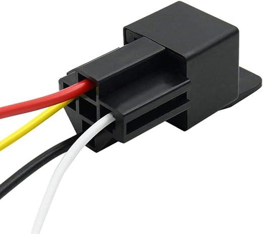 Color Plateado Zerone K3-66 Soporte de Antena de Coche para Radio m/óvil