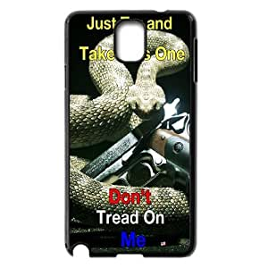 Dont Tread On Me Pattern Plastic Hard Case For Samsung Galaxy NOTE3 Case Cover GHLR-T383472